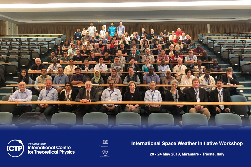International Space Weather Initiative Workshop, 20-24 May 2019, Trieste, Italy